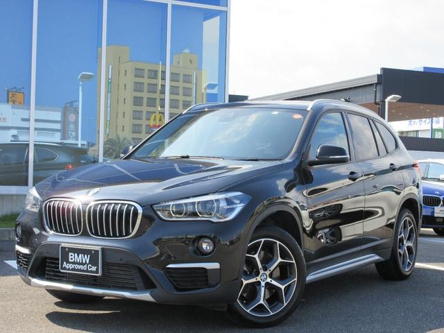 BMW X1 xDrive25i xライン LED 18AW ACC モカレザーシート ガラスサンルーフ コンフォートアクセス 電動Rゲート 禁煙 弊社ワンオーナー