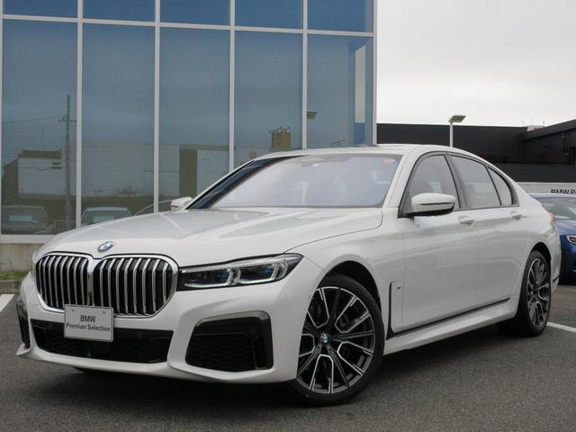 BMW 740i Mスポーツ レーザーヘッド 20AW ガラスサンルーフ 黒レザーシート ACC ヘッドアップディスプレイ ハーマンカードン 禁煙 デモカー