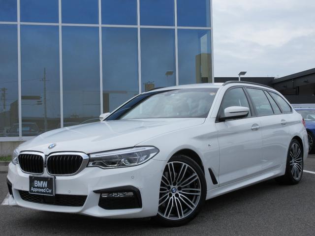 BMW 523dツーリング Mスポーツ LED 19AW ACC ヘッドアップディスプレイ ウッドパネル コンフォートアクセス フルセグTV 禁煙 弊社ワンオーナー