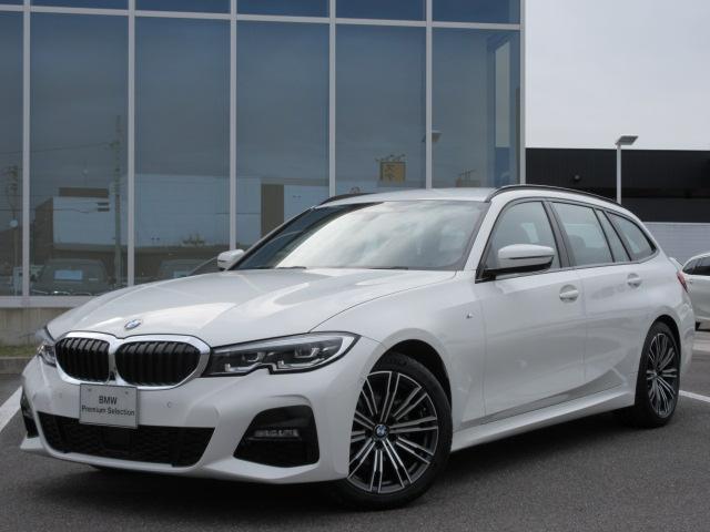 BMW 318iツーリング Mスポーツ LED 18AW ACC アンビエントライト ライトカーペット コンフォートアクセス PDC Bカメラ 電動Rゲート 禁煙 認定中古車