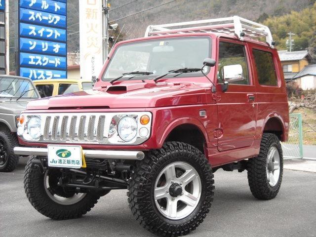 スズキ XL 4WD 3インチUP 検対応