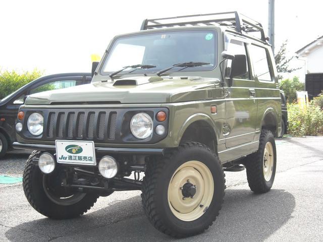 ジムニー ランドベンチャー 4WD 3インチUP検対応 レトロカスタム