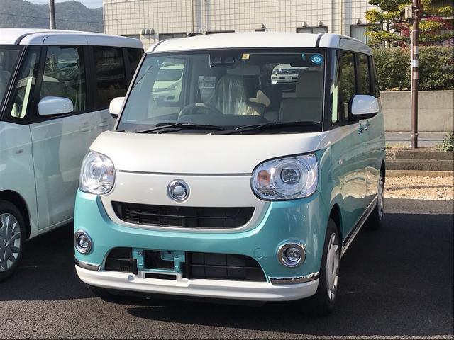 ダイハツ GメイクアップSAIII 両側電動スライド 届出済未使用車