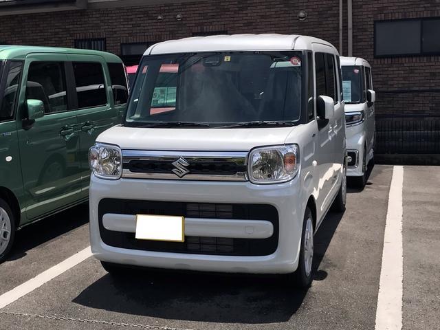 スズキ ハイブリッドX DSBS 両側電動スライド 届出済未使用車