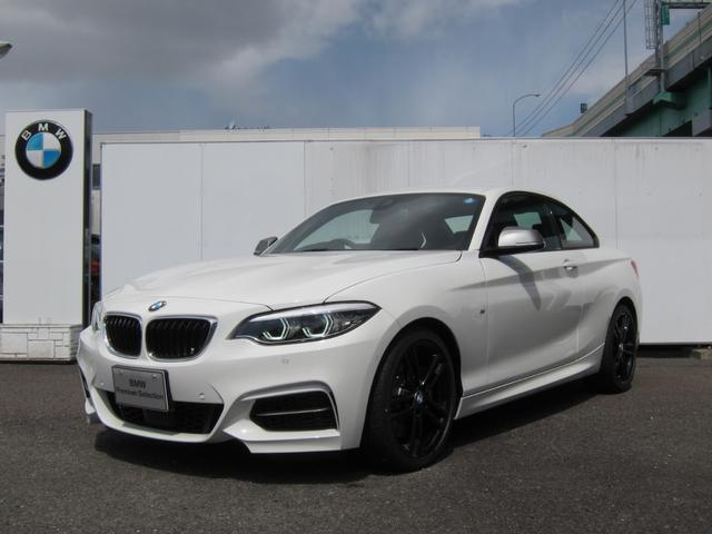 BMW M240iクーペ レッドレザーシート 未使用車