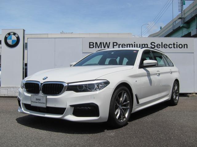 BMW 5シリーズ 523dツーリング Mスピリット 認定中古車 アクティブクルーズコントロール インテリジェントセーフティ 電動テールゲート バックカメラ&センサー