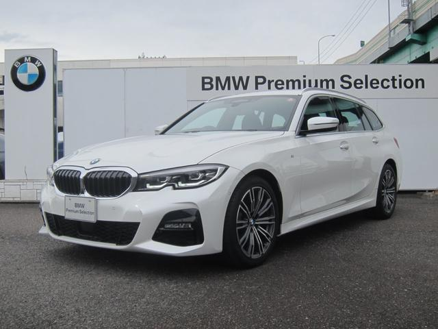 BMW 3シリーズ 320d xDriveツーリング Mスポーツ アクティブクルーズコントロール トップビュー&サイドビュー
