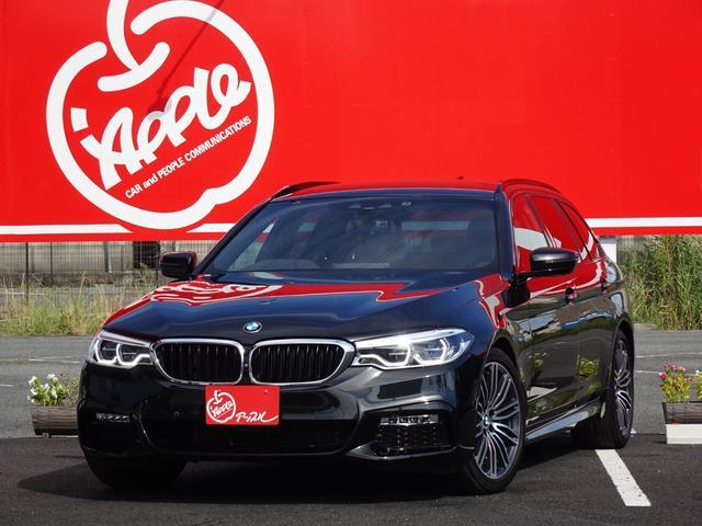 BMW 530iツーリング Mスポーツ ブラックレザーシート/ヘッドアップディスプレイ/ジェスチャーコントロール/アクティブクルーズコントロール/パワーバックドア/コンフォートアクセス/禁煙車