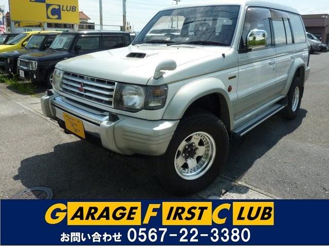 三菱 ワイド スーパーエクシード4WD レザーシート サンルーフ