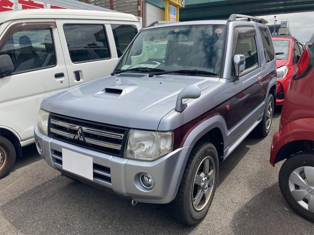 三菱 パジェロミニ エクシード 4WD キーレス HDDナビTV バックカメラ ETC
