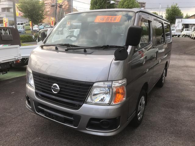 日産 ロングDX2.0ガソリン キーレス ETC タイヤ新品交換渡