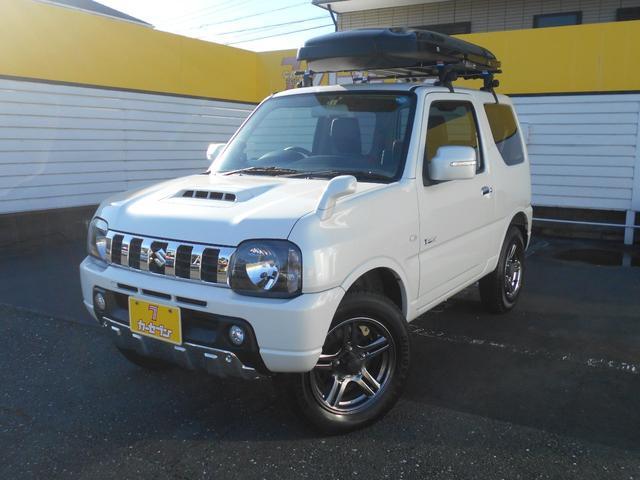 スズキ クロスアドベンチャー 4WD ETC シートヒーター ルーフボックス X-adventureロゴ入り専用合皮シート レーダー