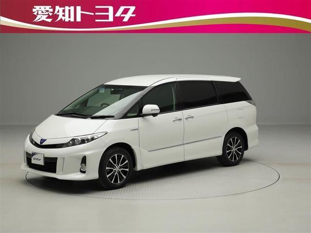 トヨタ アエラス バックモニター HDDナビ フルセグ スマートキ-