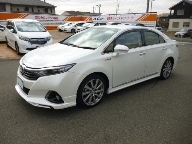 トヨタ G SDナビ LED ETC パワーシート アルミホイール