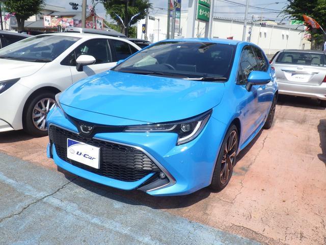 トヨタ カローラスポーツ G Z 当社試乗車 セーフティーセンス LEDヘッドライト