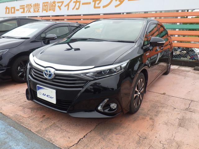 トヨタ S フルセグHDDナビ Bモニター ETC LEDヘッド