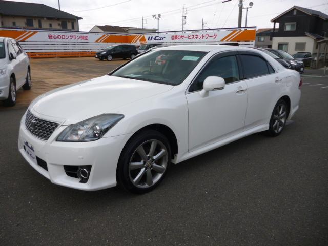 トヨタ 2.5アスリートi-Four 一年走行無制限保証 ナビ