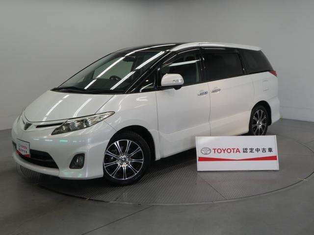 トヨタ エスティマ 2.4アエラス Gエディション メモリーナビ フルセグTV