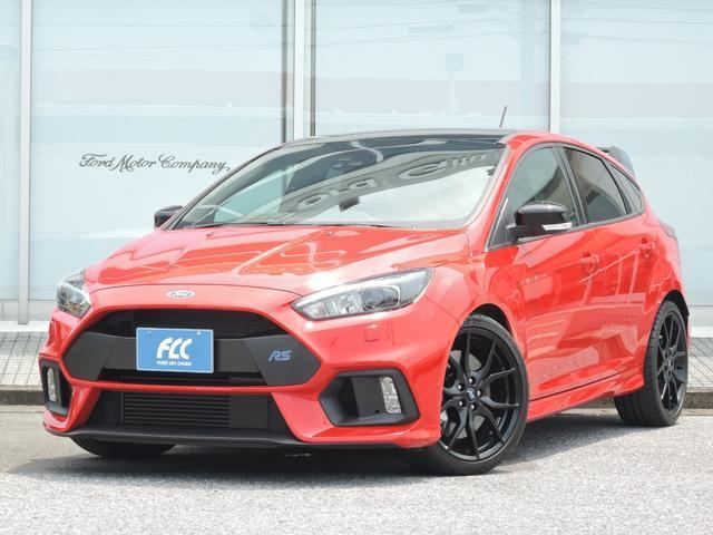 ヨーロッパフォード RS RED EDTION 新車4WDターボ