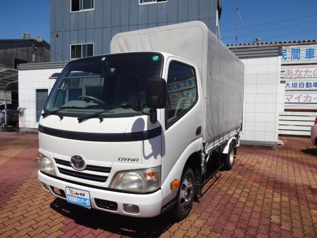 トヨタ ダイナトラック 3.0DTフルジャストローPG付幌車