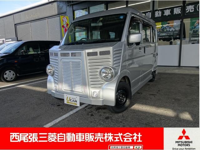 三菱 ブラボーターボ4WD 軽キャンパー ちょいキャン 3年保証付