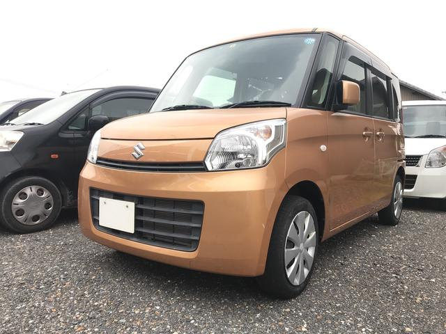 スズキ X グー鑑定車 無料保証1ヶ月走行無制限付 オレンジM