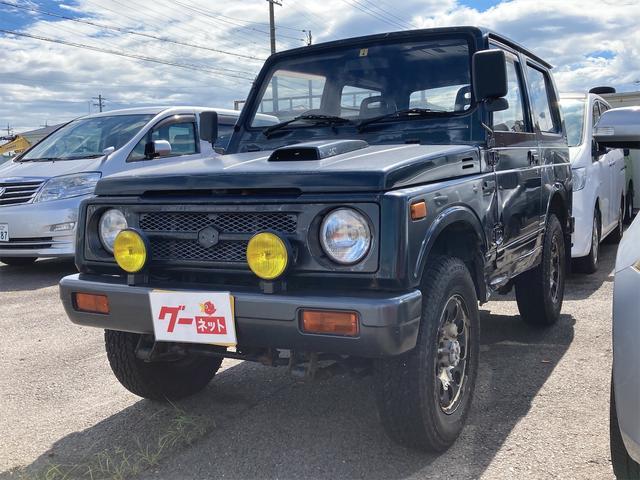 スズキ ジムニー ワイルドウインドリミテッド 4WD 過給機設定モデル 5速MT