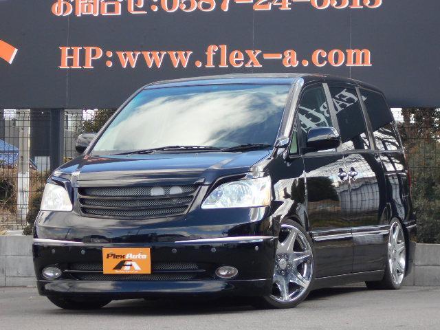 トヨタ X DAD仕様社外19AWテイン車高調社外HDDナビ地デジ