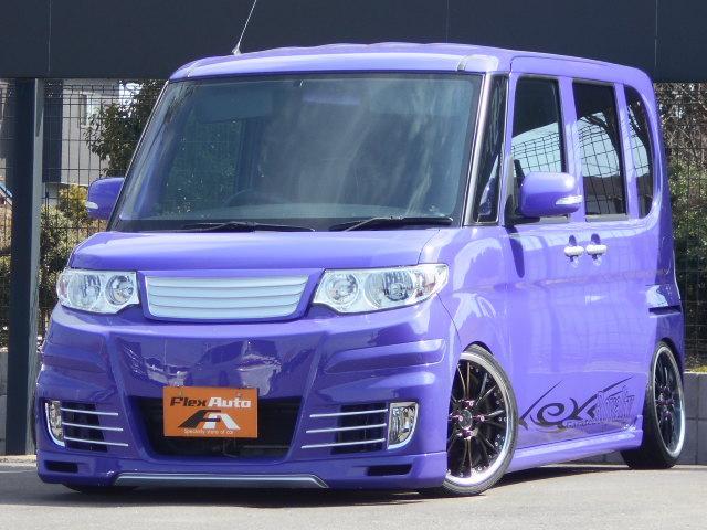 ダイハツ カスタムX K-BREAK仕様SSR16AW車高調HDDナビ