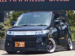 ワゴンRスティングレーX WORK16AW車高調外アクスル外LEDテール外ナビ