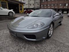 フェラーリ 360モデナF1 ワンオーナー車 赤レザーシート フルノーマル
