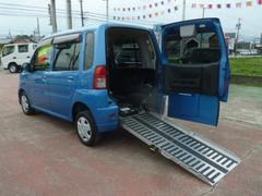 トッポスローパー 車椅子仕様車 車高降下装置 電動固定装置