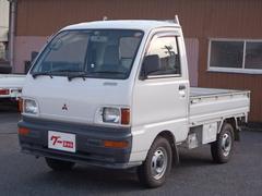 ミニキャブトラックTL 5速MT 4WD 三方開 エアコン パワステ