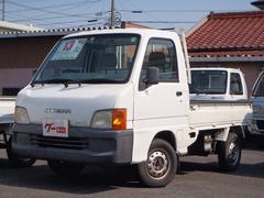 サンバートラック4WD 5速マニュアル EL付き 運転席エアバッグ ラジオ