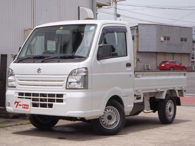 スズキ KCエアコン・パワステ 5速MT 4WD 走行1.1万キロ