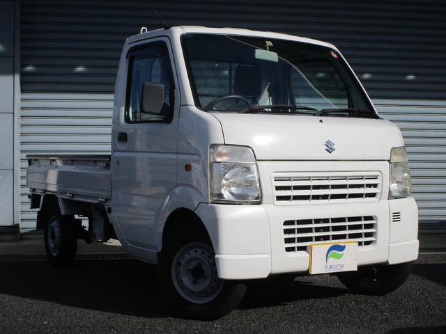 スズキ KCエアコン・パワステ オートマチック 4WD エアコン パワステ タイミングチェーン レべライザー