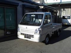 キャリイトラックKCエアコン・パワステ 4WD5速 届出済未使用車 新法規車