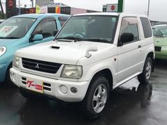 パジェロミニV 軽自動車 4WD AT 保証付 エアコン AW15インチ
