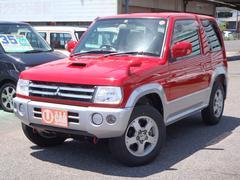 パジェロミニVR 4WD ターボ ワンオーナー車 ポータブルナビ ETC