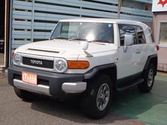 FJクルーザーカラーパッケージ 4WD ナビ バックカメラ 車検32年6月