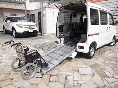ハイゼットカーゴDX 福祉車両スローパー 補助席付 電動ウィンチ付