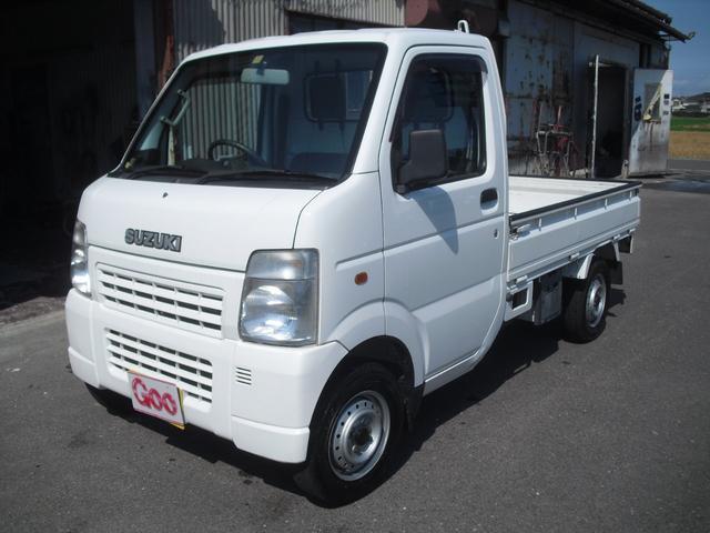 スズキ KCエアコン・パワステ 5速MT 4WD 走行4.9万km