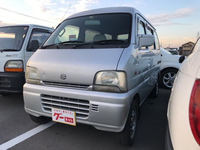 スズキ ジョイポップ 軽自動車 シルバー MT AC 4名乗り