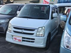 ワゴンRFX−Sリミテッド ナビ 軽自動車 ETC ホワイト