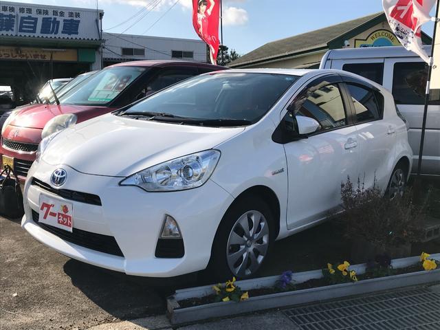 「トヨタ」「アクア」「コンパクトカー」「三重県」の中古車