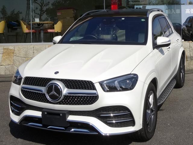 メルセデス・ベンツ GLE400d 4マチックスポーツ 4WD/パノラマR/黒x白革