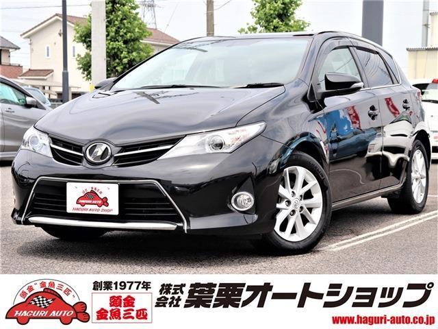 トヨタ オーリス 180G Sパッケージ 禁煙車SDナビBTオーディオETC