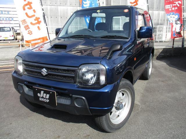 スズキ XG 4速オートマ パートタイム4WD ターボエンジン キーレス CDステレオ 両席エアバッグ ABS  ワンオーナー 禁煙車