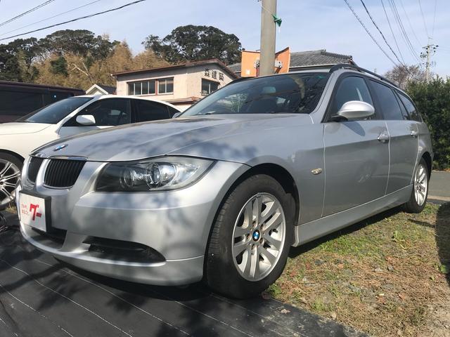BMW 320iツーリング ナビ ワンオーナー AW オーディオ付