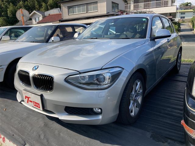 BMW 1シリーズ 116i アルミホイール オートライト ミュージックプレイヤー接続可 CD スマートキー アイドリングストップ AT ESC エアコン パワーステアリング